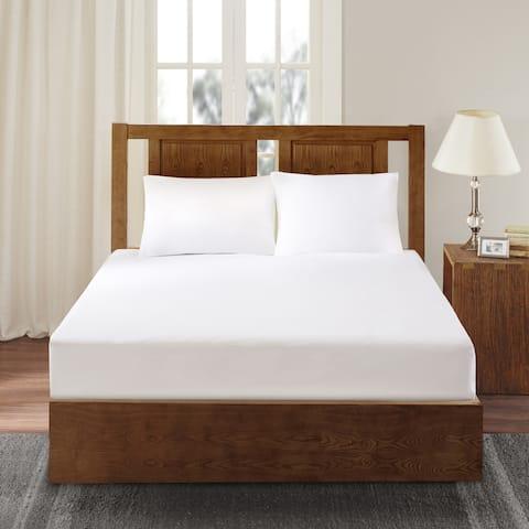 Bed Guardian 3M Scotchgard Waterproof Mattress Protector by Sleep Philosophy - White