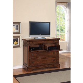 American Traditional 3-drawer/2-shelf Media Chest