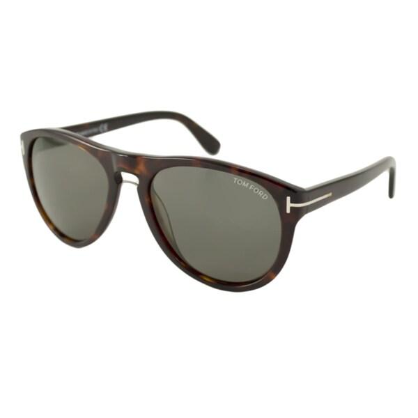 797b2f71f3 Shop Tom Ford TF0347 Kurt Men s Aviator Sunglasses - Free Shipping ...
