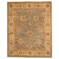 Herat Oriental Indo Hand-knotted Mahal Wool Rug (8'2 x 10'2) - 8'2 x 10'2