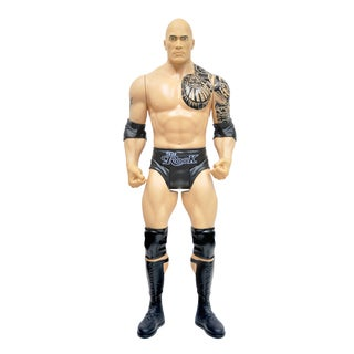 WWE Authentic 31-inch The Rock Action Figure