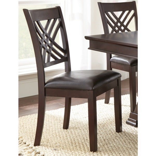 ed847938e7ae Shop Greyson Living Alston Dining Chairs (Set of 2) - 40 inches high x 19  inches wide x 24 inches deep - Free Shipping Today - Overstock - 10618484