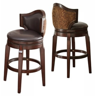 Greyson Living Jensen Low Back Bar Stool (Set of 2)