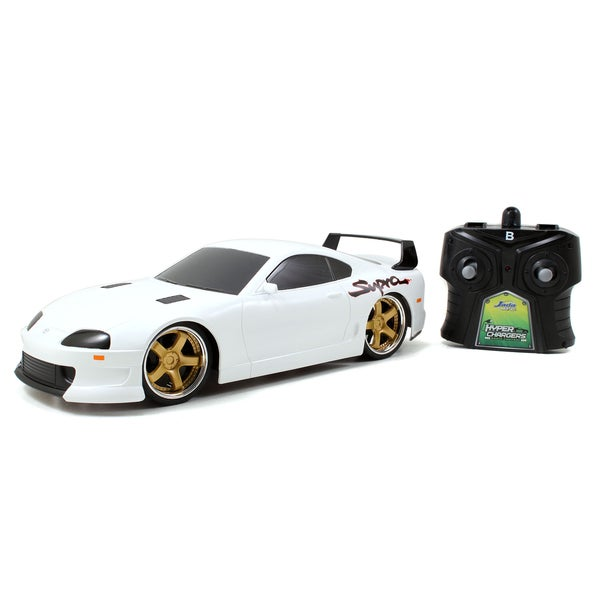 Jada Toys HyperChargers 1/16 Scale Tuner Toyota Supra