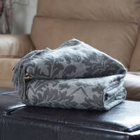 Windsor Home Jacquard Throw Blanket