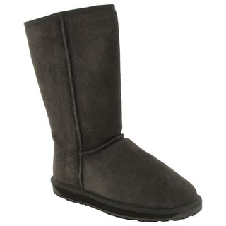 BooRoo Women's Eva Tall Suede Merino Wool Winter Boots