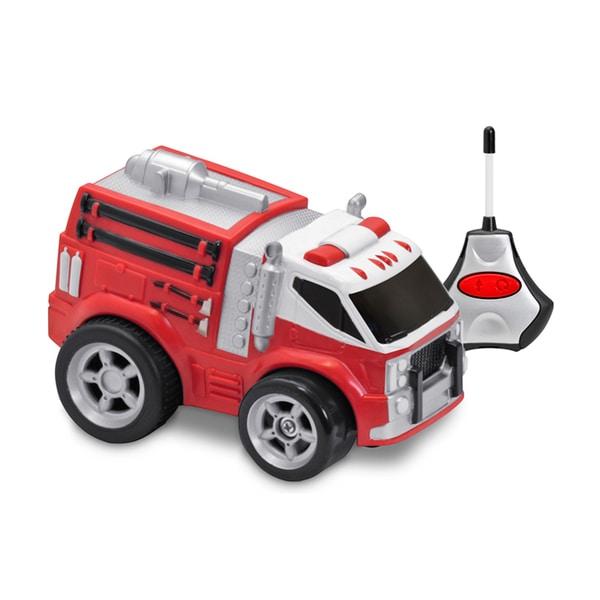 Kid Galaxy Soft, Safe and Squeezable RC Fire Truck