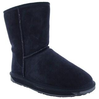 BooRoo Womens Eva Suede Merino Wool Winter Snow Boots