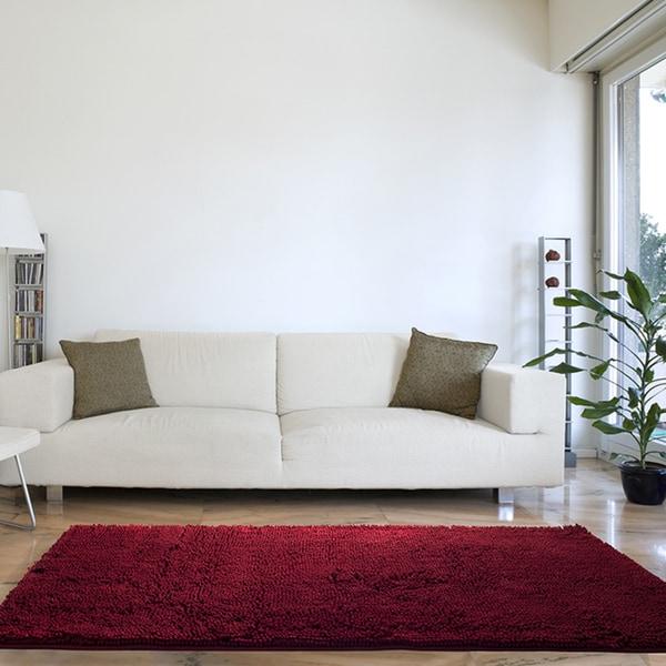 Windsor Home High Pile Shag Rug Carpet - 30x60