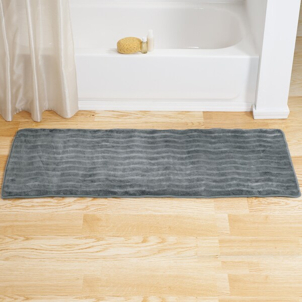Windsor Home Memory Foam Extra Long Bath Mat 24 X 60