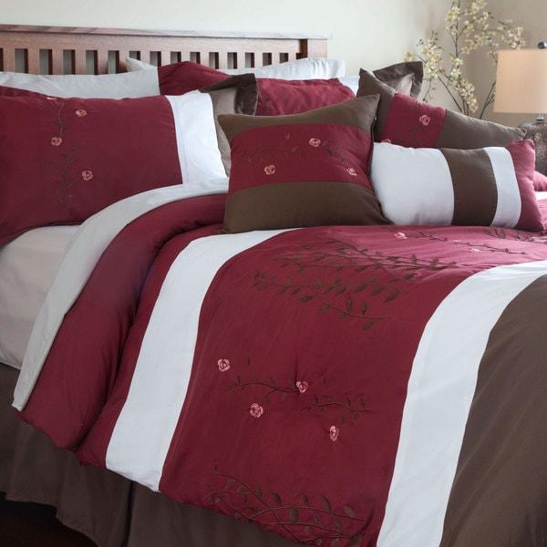 Windsor Home Katelyn 7-piece Embroidered Comforter Set