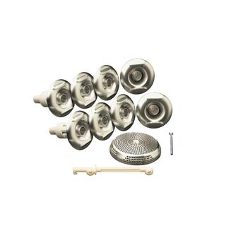 Kohler Flexjet Whirlpool Trim Kit in Vibrant Brushed Nickel