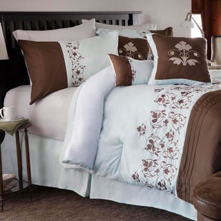Windsor Home 'Hannah' 7-piece Embroidered Comforter Set