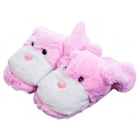 Kids Cuddlee Bunny Slippers (Ages 6 - 12)