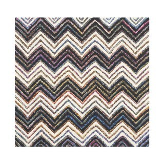 Safavieh Handmade Nantucket Waltraut Contemporary Cotton Rug (4 x 4 Square - Ivory/Black)