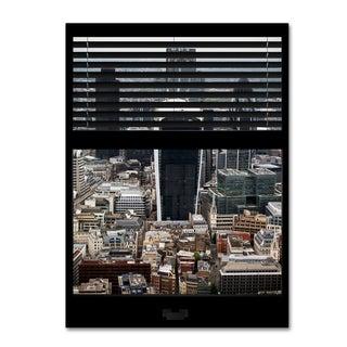 Philippe Hugonnard 'Window View London 1' 24x32 Canvas Wall Art