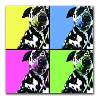 Gifty Idea Greeting Cards and Such! 'Dalmatians' 24x24 Canvas Wall Art