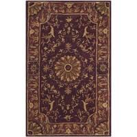 "Safavieh Hand-Tufted Empire Burgundy Wool Rug - 2'6"" x 4'"