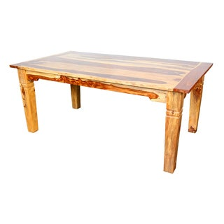 Porter Taos Solid Sheesham Wood 72-inch Dining Table (India)
