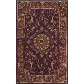 Safavieh Hand-Tufted Empire Burgundy Wool Rug (2' x 3')
