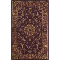 Safavieh Hand-Tufted Empire Burgundy Wool Rug - 2' x 3'