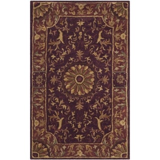 Safavieh Handmade Empire Dani Traditional Oriental Wool Rug (2 x 3 - Burgundy)