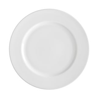 10 Strawberry Street Royal White Dinner Plate 10-inch Set of 6