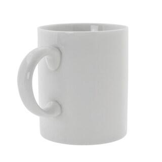 10 Strawberry Street Royal White C-Handle Mug Set of 6