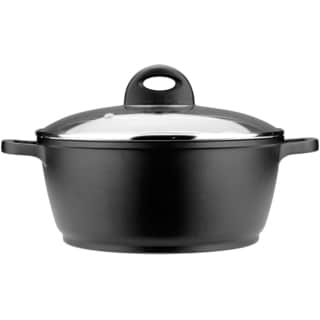 """CooknCo 9.5"""" Cast Covered Stockpot"""
