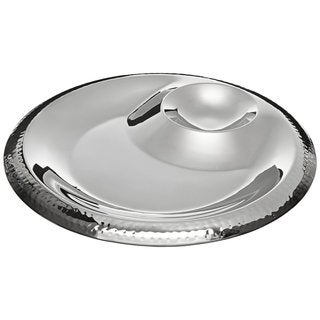 Elegance Hammered  13-inch Chip & Dip Server