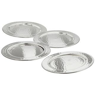 Elegance Hammered 4-inch Round Coasters (set of 4)|https://ak1.ostkcdn.com/images/products/10618978/P17689368.jpg?impolicy=medium