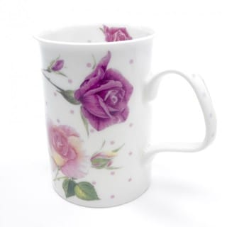 Roy Kirkham Lancaster Mug - Rose Du Temps (Set of 6)