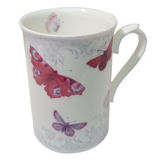 Roy Kirkham Anne Mug - Butterfly Set of 6