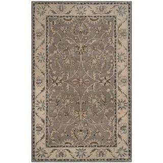 Safavieh Handmade Heritage Timeless Traditional Grey/ Beige Wool Rug (9' x 12')