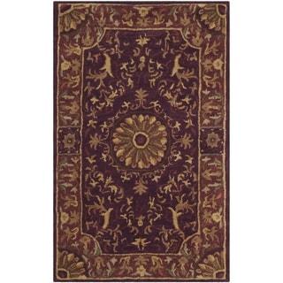 Safavieh Handmade Empire Dani Traditional Oriental Wool Rug (3 x 5 - Burgundy)