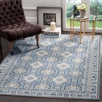 Safavieh Artisan Vintage Silver/ Blue Distressed Area Rug - 5'1 x 7'6