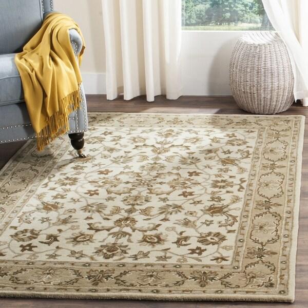 Safavieh Hand Tufted Stratford Ivory Beige Wool Rug 8