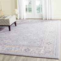 Safavieh Carmel Vintage Light Blue/ Ivory Distressed Rug - 8' x 10'