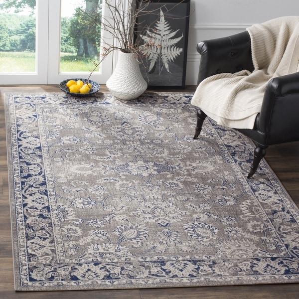 Safavieh Artisan Vintage Grey/ Blue Distressed Area Rug (8' x 10')