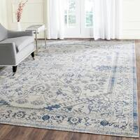 Safavieh Artisan Vintage Silver/ Blue Distressed Area Rug - 8' x 10'