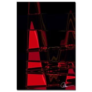 Martha Guerra 'Abstract III' 16x24 Canvas Wall Art