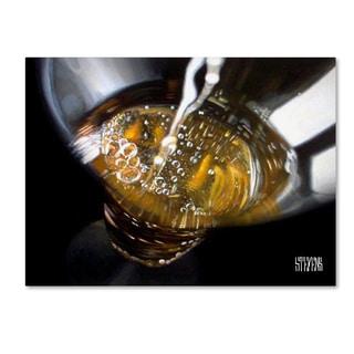 Roderick Stevens 'The Pour' 14x19 Canvas Wall Art