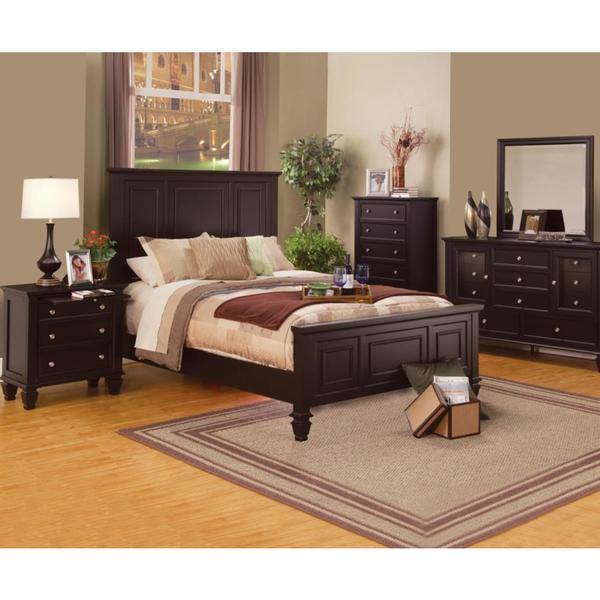 nicholson sincere 6 piece cappuccino bedroom set free shipping today