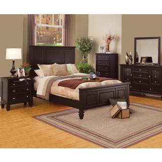 Nicholson Sincere 6-piece Cappuccino Bedroom Set