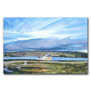 Coleen Proppe 'Inverness Sky' 22x32 Canvas Wall Art