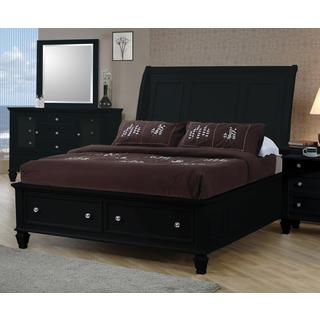 Nicholson 4-piece Black Bedroom Set