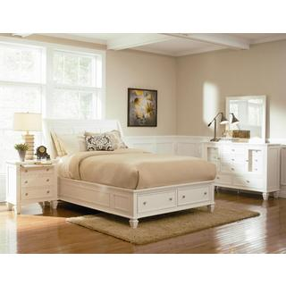 Nicholson 6 Piece White Bedroom Set