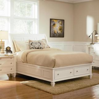 Nicholson 4 Piece White Bedroom Set