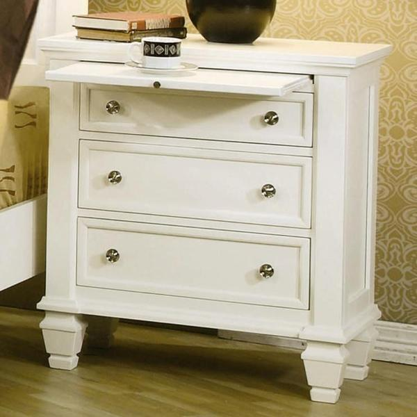 3 Piece White Bedroom Set Part - 31: Nicholson 3-piece White Bedroom Set - Free Shipping Today - Overstock.com -  17689916