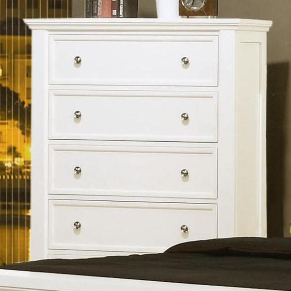 3 Piece White Bedroom Set Part - 33: Nicholson 3-piece White Bedroom Set - Free Shipping Today - Overstock.com -  17689916